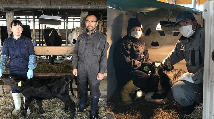 2020年から生乳生産開始した関東出身の新規就農者のご夫婦2組